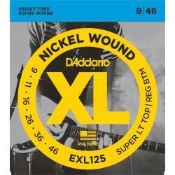 D'ADDARIO EXL125 cordes pour guitare électrique