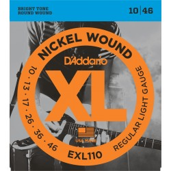D'ADDARIO EXL110 cordes pour guitare électrique