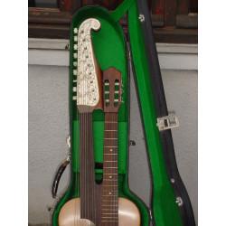 Guitare Harpe 15 cordes années 40