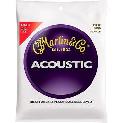 MARTIN M140 cordes pour guitare acoustique