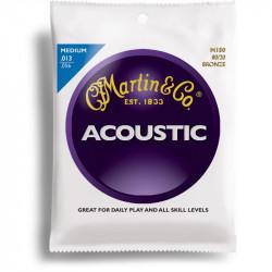 MARTIN M150 cordes pour guitare acoustique