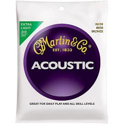MARTIN M170 cordes pour guitare acoustique