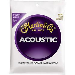 MARTIN M175 Cordes pour guitare acoustique